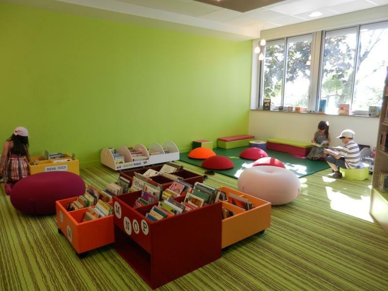 am nagement d 39 une biblioth que m diath que. Black Bedroom Furniture Sets. Home Design Ideas